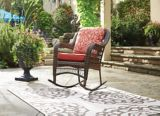 CANVAS Catalina Collection Wicker Patio Rocking Chair | CANVASnull