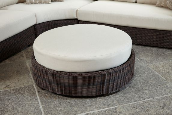 Leisure Design Mission Outdoor Ottoman Product image