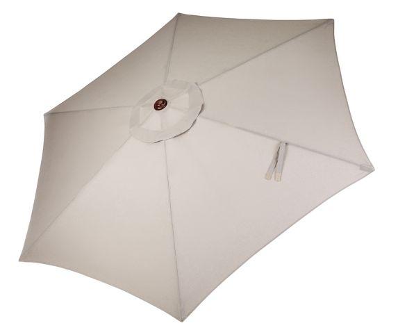 Parasol de marché CANVAS, beige, 9 pi Image de l'article