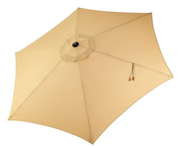 CANVAS Patio Market Umbrella, Gold, 9-ft Product image