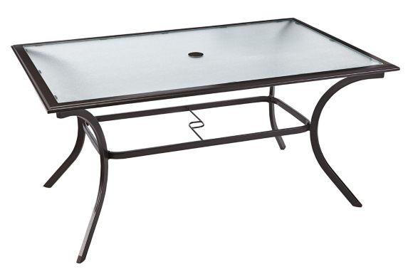 For Living Bluebay Rectangular Patio Table