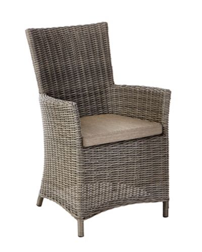 CANVAS Tribeca Wicker Patio Dining Chair Product image