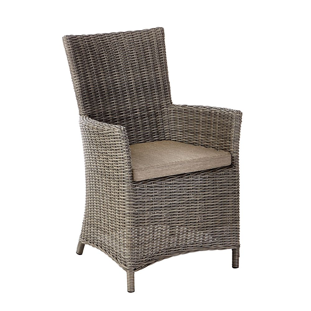 Canvas Tribeca Wicker Patio Dining Chair