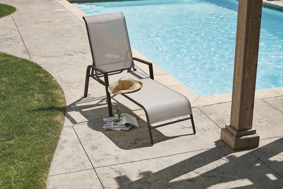 For Living Bluebay Sling Patio Lounger Product image