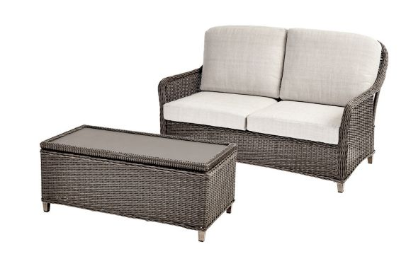 CANVAS Beaumont Patio Loveseat & Storage Table Product image