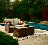 CANVAS Beaumont Patio Loveseat & Storage Table | CANVASnull