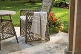 CANVAS Striped Outdoor Throw | CANVASnull