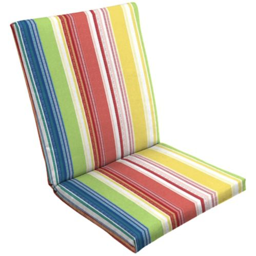 CANVAS Adley Stripe Patio Chair Cushion Product image