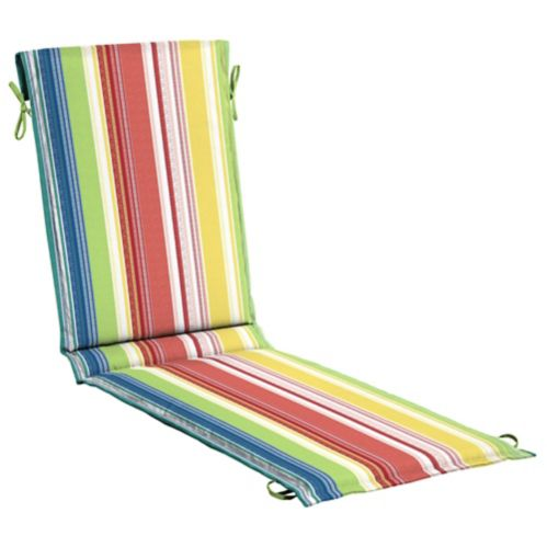 CANVAS Adley Stripe Patio Chaise Cushion Product image
