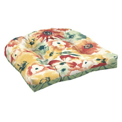 Coussin de fauteuil en osier CANVAS Poppy Image de l'article