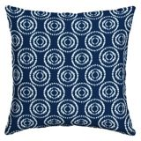 CANVAS Indigo Toss Cushion, 16-in | CANVASnull