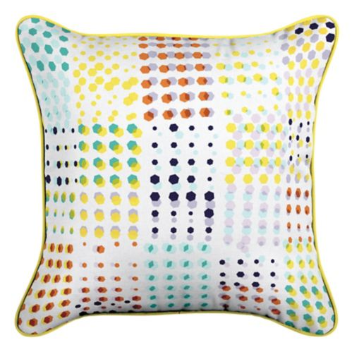 CANVAS Confetti by Avril Loreti Patio Toss Cushion with Tri-pel, 18-in Product image