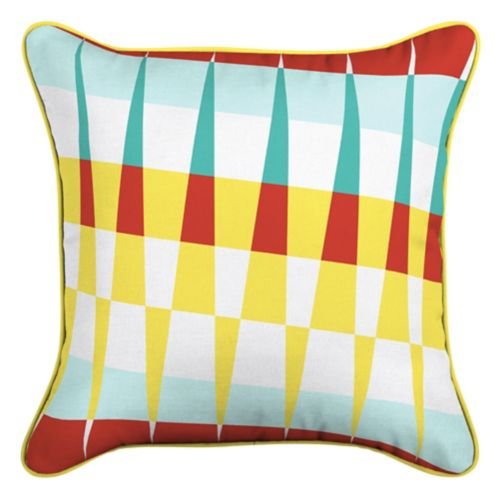 CANVAS Suncatcher Patio Toss Cushion with Tri-pel by Avril Loreti, 18-in Product image