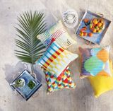 CANVAS Suncatcher Patio Toss Cushion with Tri-pel by Avril Loreti, 18-in | CANVASnull