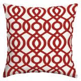 CANVAS Capilla Red Olefin Patio Toss Cushion, 20-in | CANVASnull