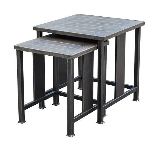 Tables gigognes carrées CANVAS Dashley Image de l'article