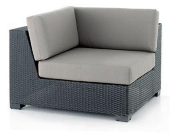 Fauteuil de coin modulaire Leisure Design Palisades Image de l'article