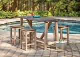 Table de bar CANVAS Alfresco | CANVASnull