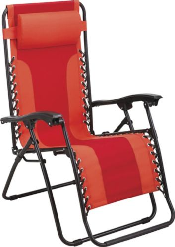 For Living Zero Gravity Chair, Red Product image