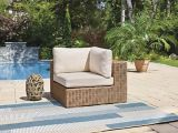 Fauteuil de jardin modulaire de coin CANVAS Tofino | CANVASnull
