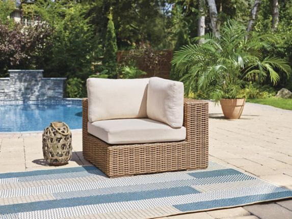 CANVAS Tofino Collection Sectional Patio Corner Chair Product image