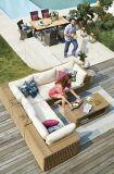 Ensemble de meubles de jardin modulaires CANVAS Tofino, fauteuil milieu sans accoudoirs | CANVASnull