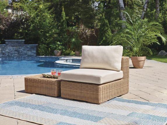 Ensemble de meubles de jardin modulaires CANVAS Tofino, fauteuil milieu sans accoudoirs Image de l'article
