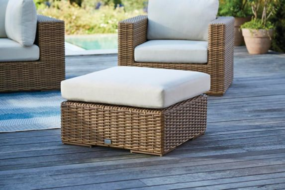 CANVAS Tofino Collection Sectional Patio, Ottoman Product image