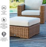 CANVAS Tofino Collection Sectional Patio, Ottoman | CANVASnull