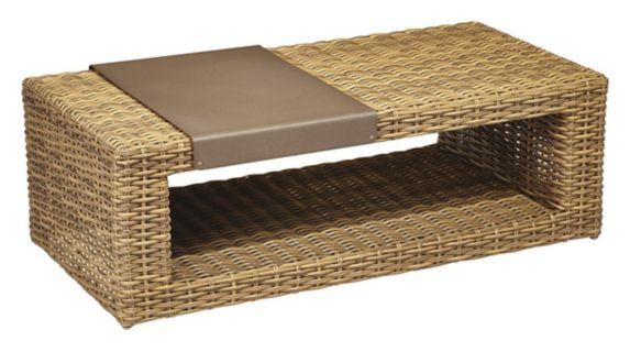 Table basse modulaire pour terrasse de la collection CANVAS Tofino Image de l'article