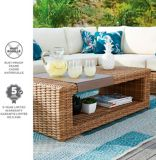 CANVAS Tofino Collection Sectional Patio Set, Coffee Table | CANVAS