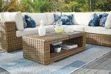 Table basse modulaire pour terrasse de la collection CANVAS Tofino | CANVASnull