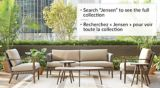 CANVAS Jensen Conversation Collection Patio Set, Side Table | CANVASnull