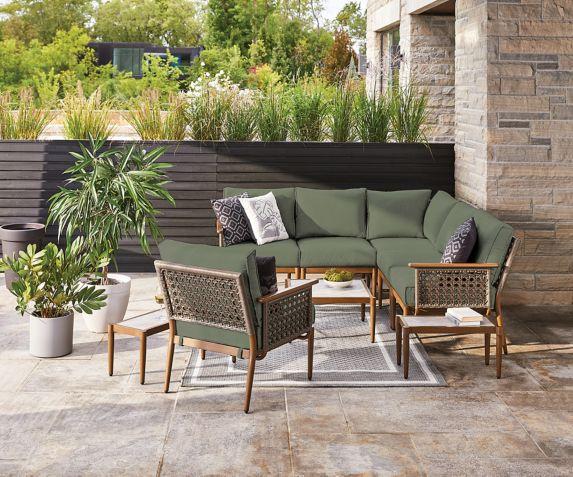 CANVAS Baffin Sage Green Cushion Slipcover Set Product image