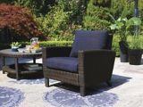 Fauteuil de jardin de la collection de meubles de jardin CANVAS Rosseau   CANVASnull