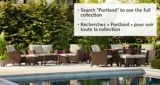 CANVAS Portland Collection Patio Ottoman, 2-pk | CANVASnull