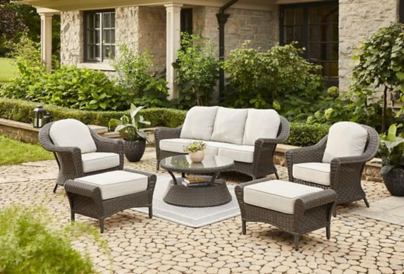 Canvas Summerhill Conversation Dining, Canada Patio Furniture Clearance