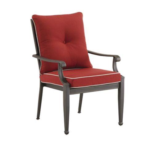 Chaise à dîner de jardin CANVAS Coventry Hills, rouge Image de l'article