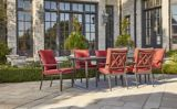 CANVAS Coventry Hills Patio Dining Chair, Red | CANVASnull