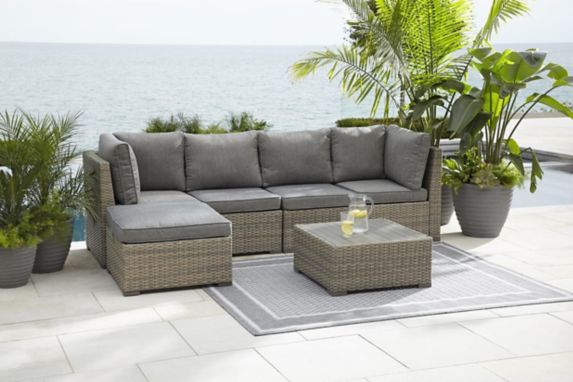 CANVAS Bala Sectional Patio Set, 6-pc Product image