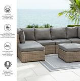 CANVAS Bala Sectional Patio Set, 6-pc | CANVASnull