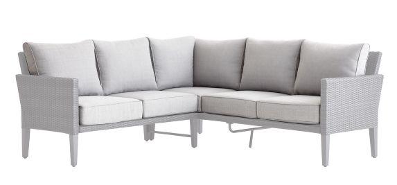 Coussins de rechange pour fauteuil modulaire CANVAS Renfrew, gris pâle Image de l'article