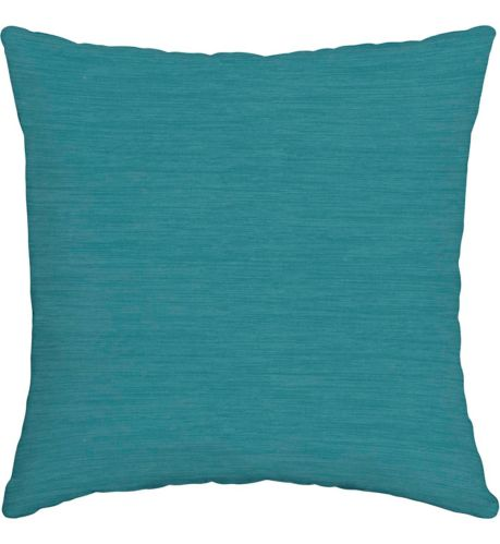 For Living Cabana Stripe Toss Cushion, Turquoise,16-in Product image