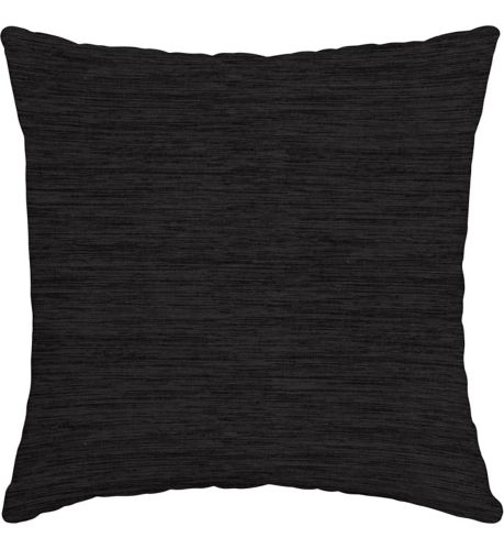 For Living Cabana Stripe Toss Cushion, Black, 16-in Product image
