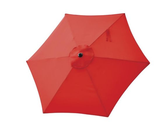 For Living Market Patio Umbrella, Red, 7-ft Product image