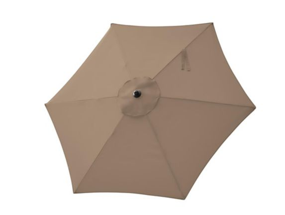 For Living Market Patio Umbrella, Beige, 7-ft Product image