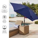 CANVAS Market Patio Umbrella, Navy, 9-ft | CANVASnull