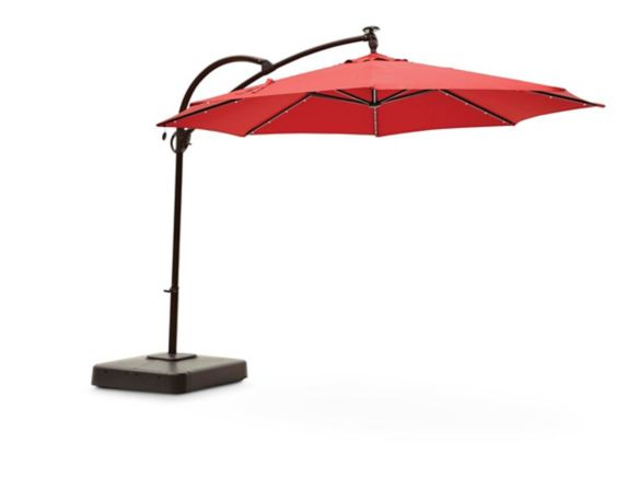 Canvas Madrid Offset Patio Umbrella
