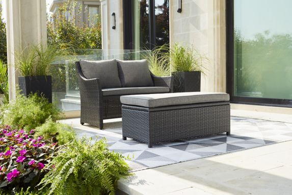 CANVAS Parkdale Loveseat & Ottoman Product image