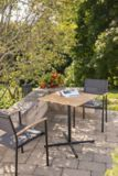 CANVAS Tremblant Wood & Steel Bistro Table | CANVASnull